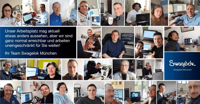 Swagelok München Team Home-Office